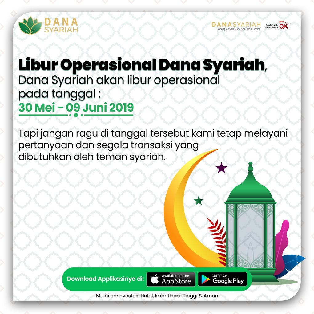 Dana Syariah Operasional Hari Raya Idul Fitri 1440 H