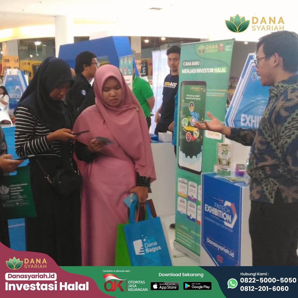 Dana Syariah Memperluas Edukasi Teknologi Finansial, Dana Syariah Indonesia Hadir di Fintech Exhibition Samarinda 2019