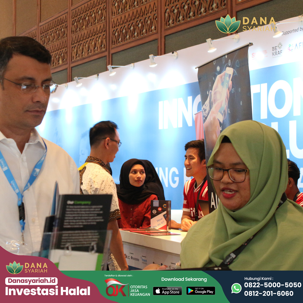 Dana Syariah Perhelatan Akbar Teknologi Finansial di Indonesia Fintech Summit and Expo 2019