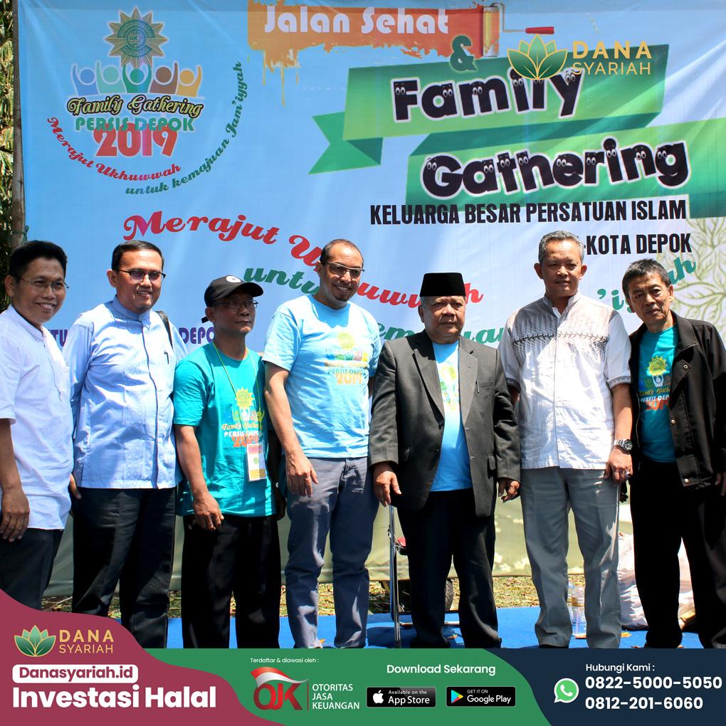 Dana Syariah Menjalin Ukhuwah Islamiyah dalam Family Gathering Persis Depok 2019