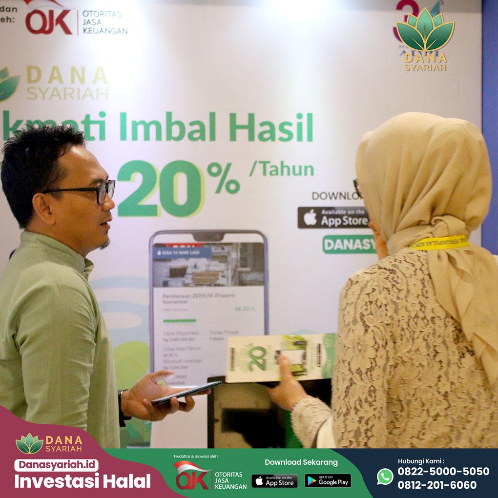 Dana Syariah Seminar Nasional dan Malam Keakraban di Perayaan 34 Tahun Asosiasi Dana Pensiun Indonesia.
