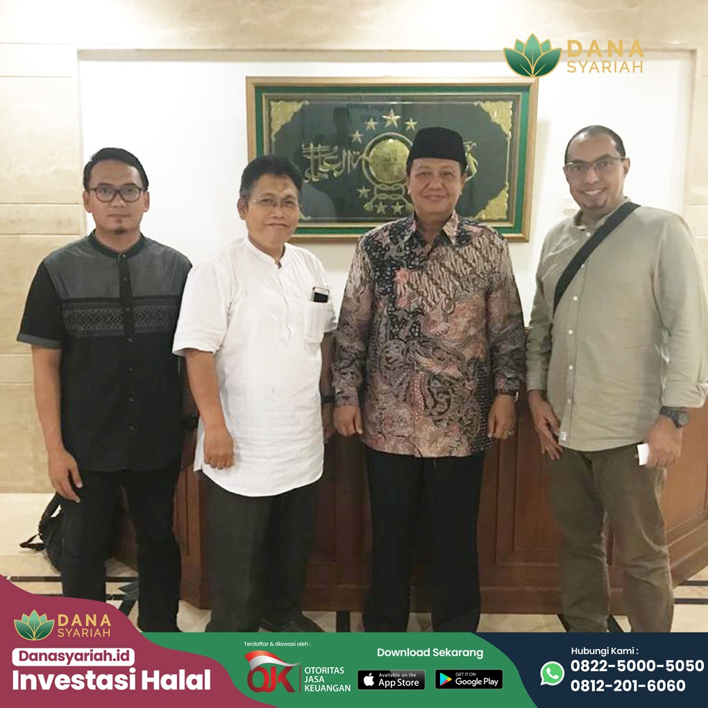Dana Syariah Bersinergi Dalam Mewujudkan Ekonomi Keumatan Berbasis Teknologi Bersama Pengurus Besar Nahdlatul Ulama (PBNU)
