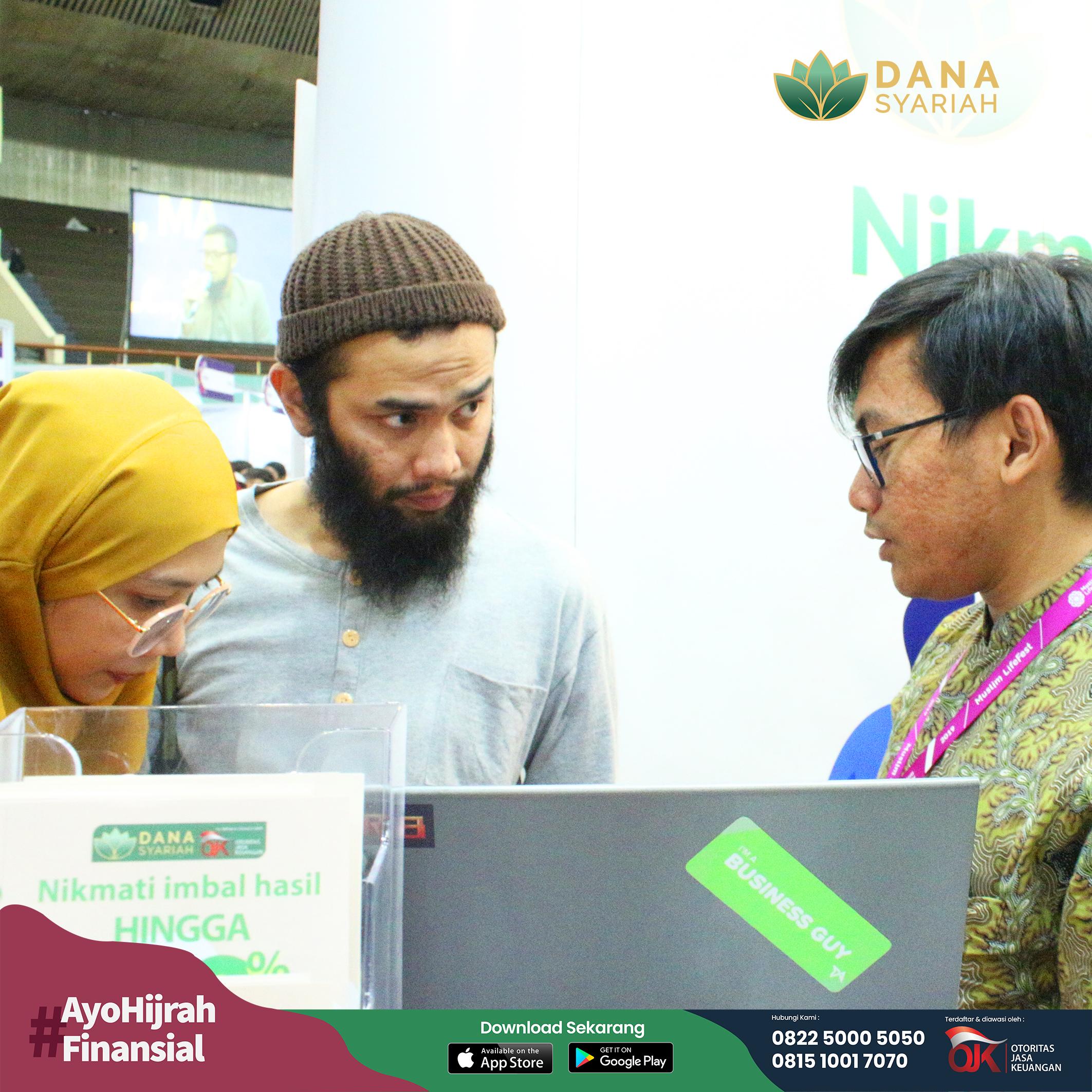 Dana Syariah Tumbuh Kembang Industri Syariah Pada Indonesia Muslim Lifestyle Festival