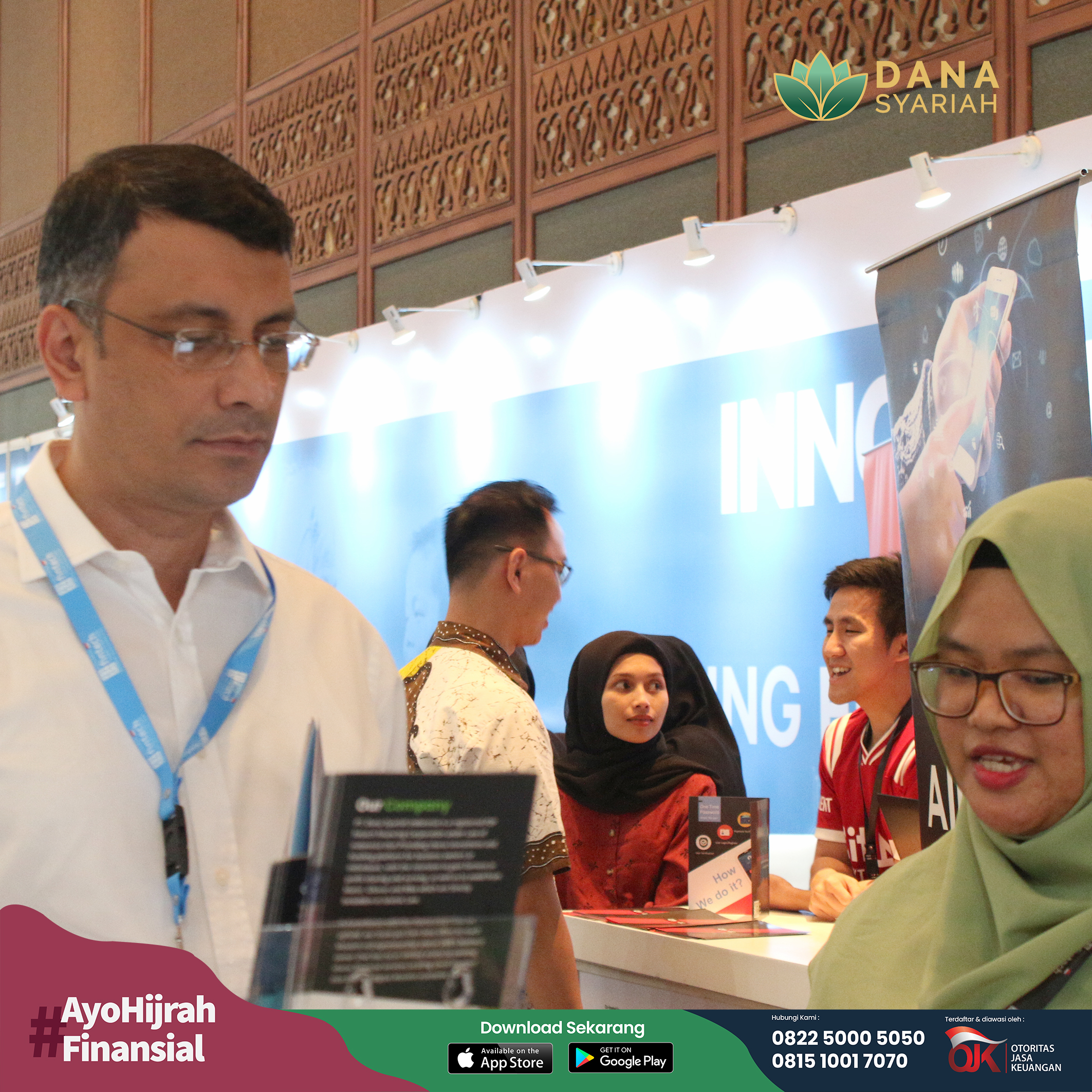 Dana Syariah Perhelatan Akbar Teknologi Finansial di Indonesia Fintech Summit and Expo 2019