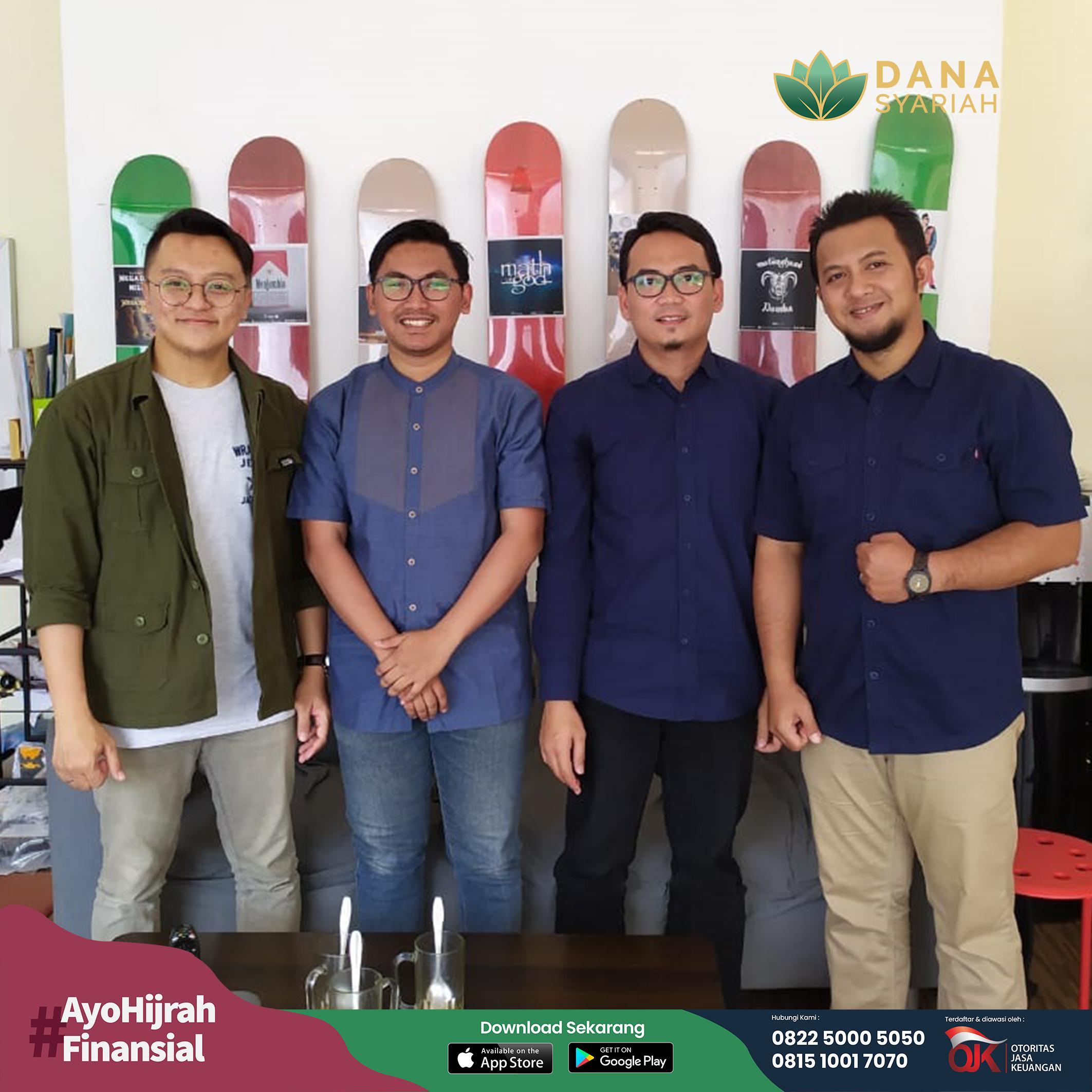 Dana Syariah Silaturahmi dan Audiensi Bersama Gerakan Pemuda Hijrah (SHIFT) di Bandung