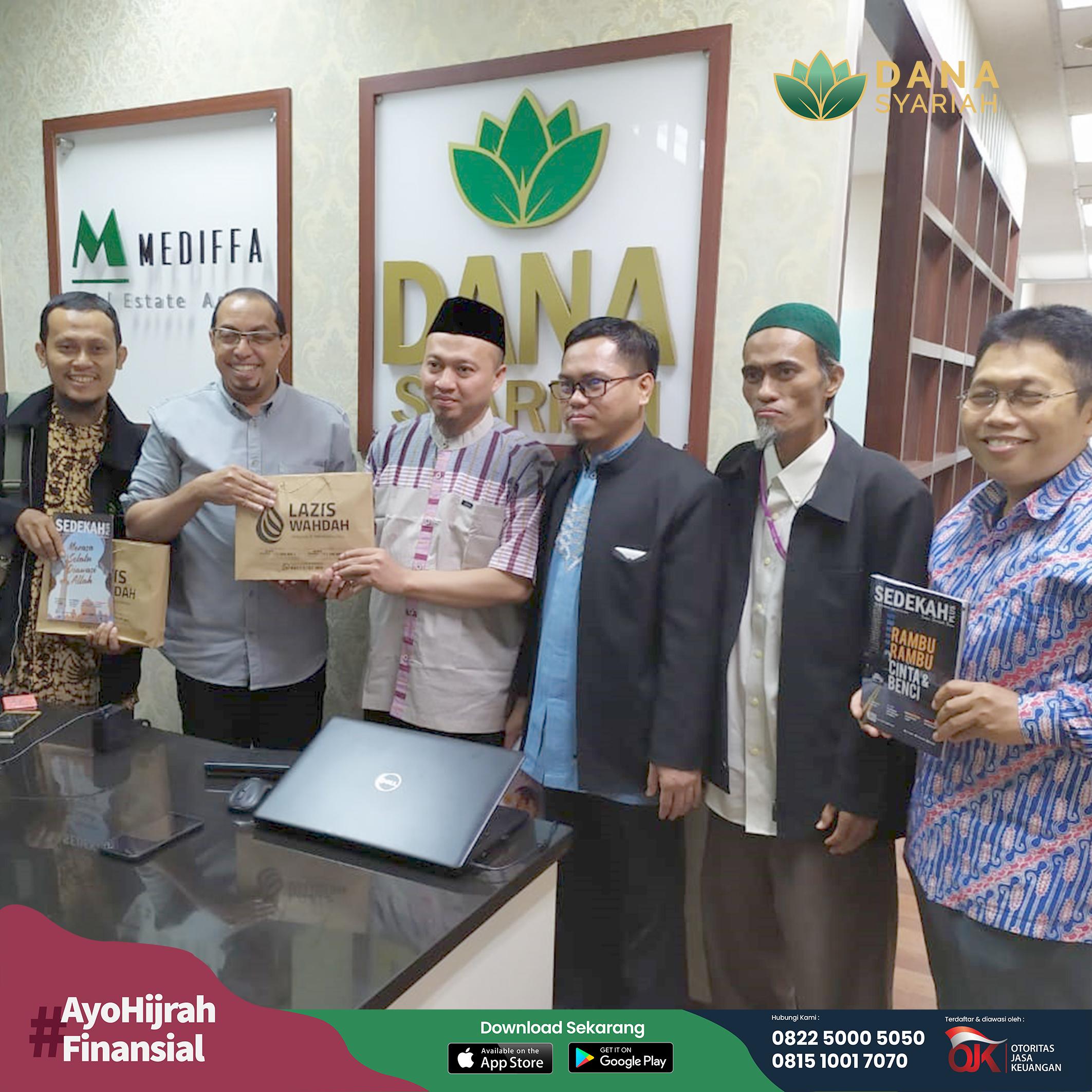 Dana Syariah Silaturahmi dan Audiensi Bersama Wahdah Islamiyah Dalam Upaya Pemberdayaan Ekonomi Umat