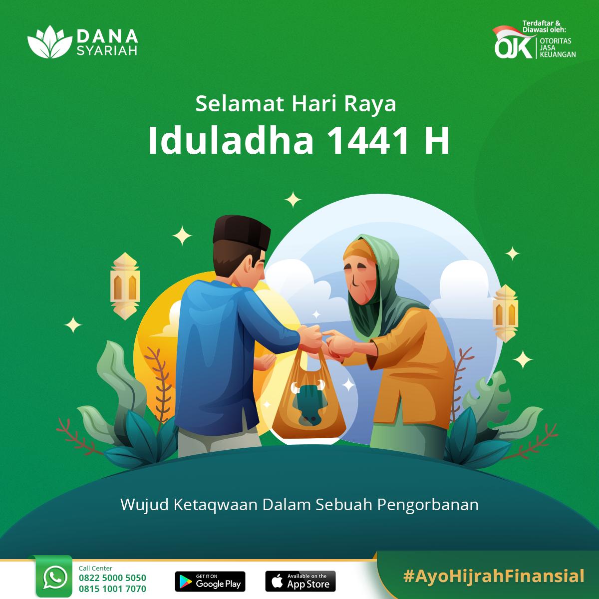 Dana Syariah Taqabbalallahu minna wa minkum, Selamat Hari Raya Iduladha 1441 H.