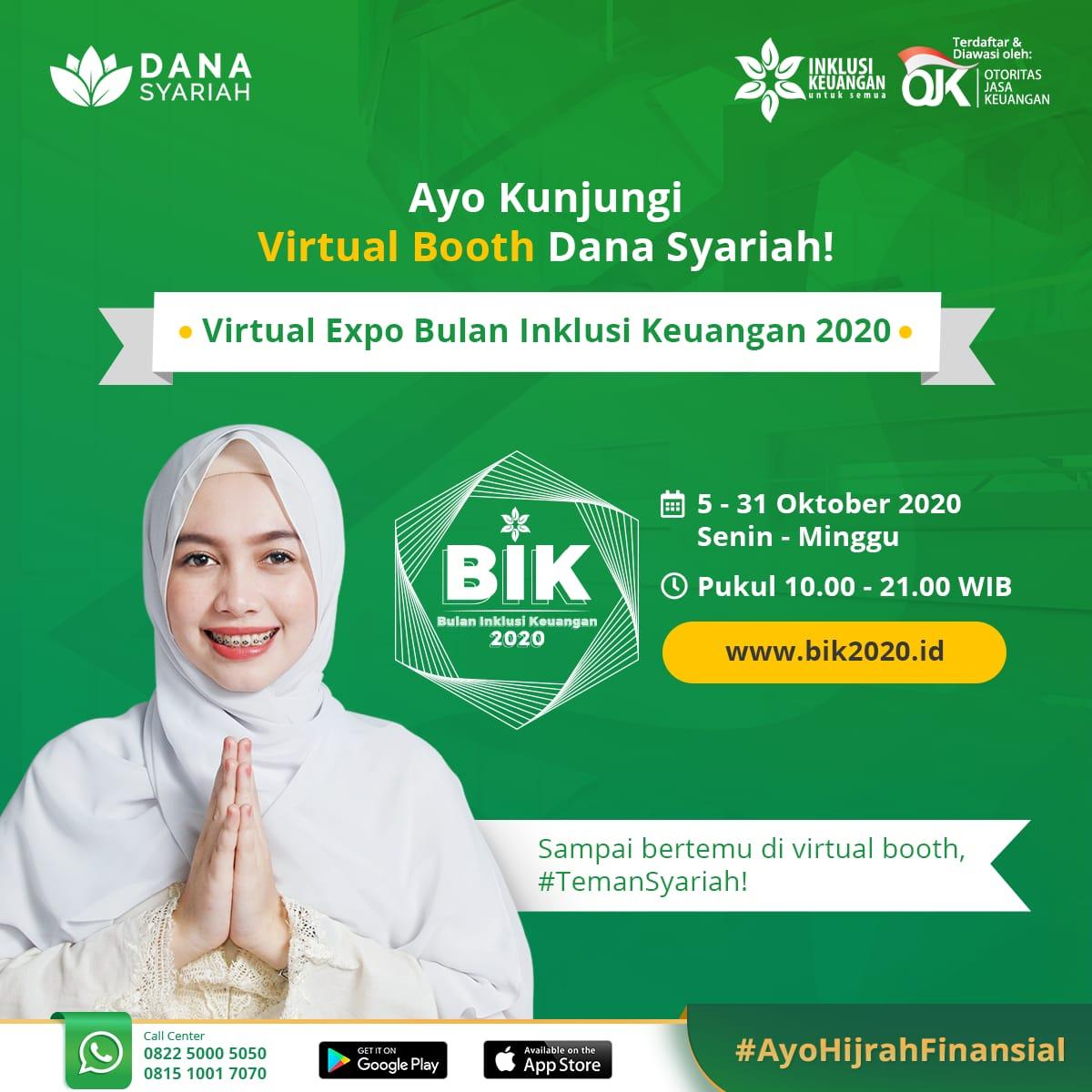 Dana Syariah Kunjungi Virtual Booth Danasyariah.id