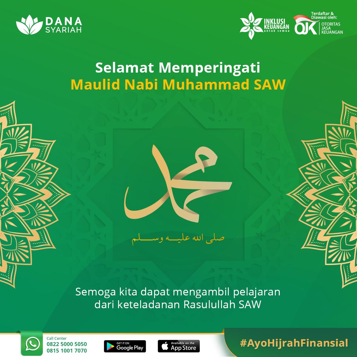Dana Syariah Selamat Memperingati Maulid Nabi Muhammad S.A.W
