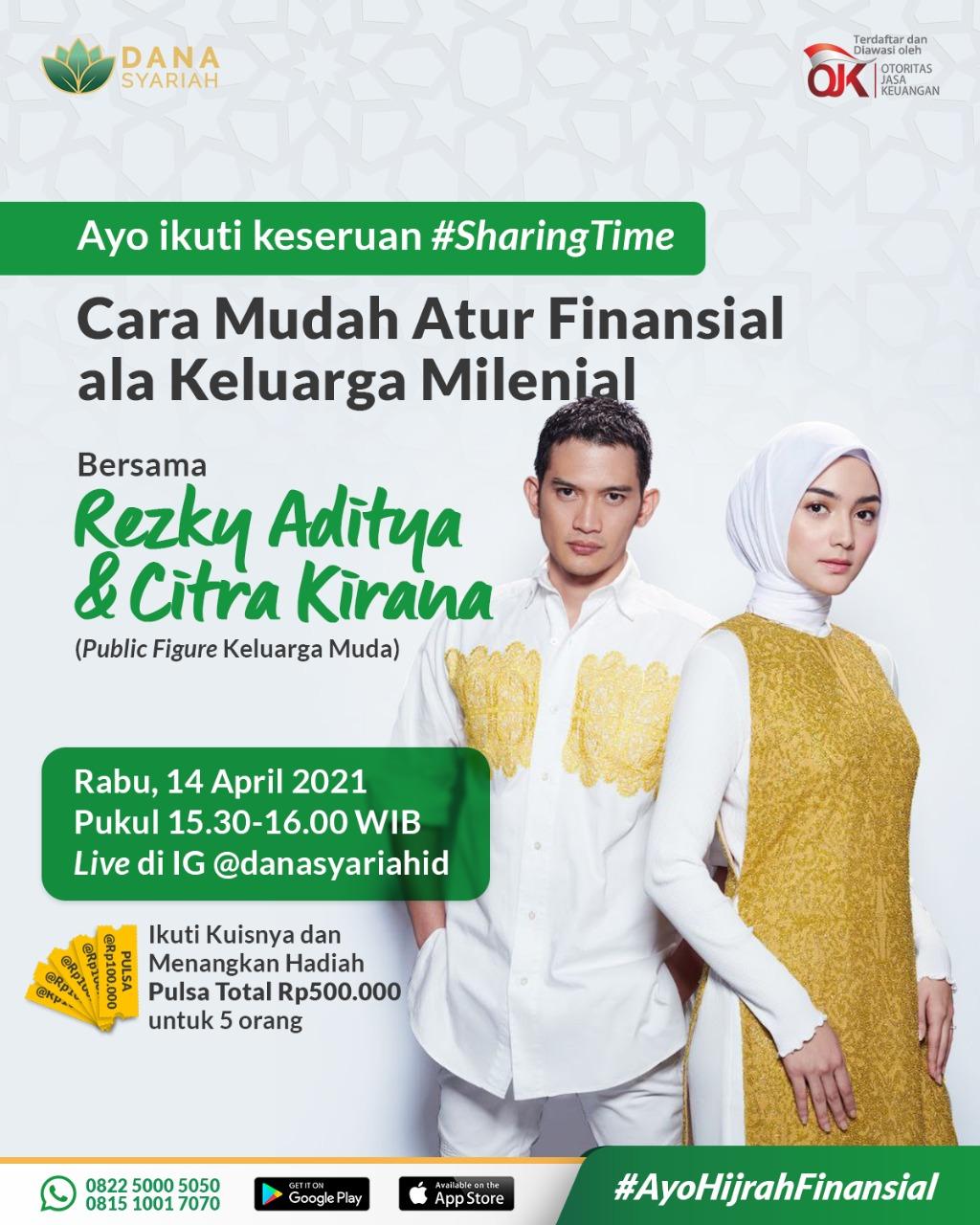 Dana Syariah Cara Mudah Atur Financial ala Keluarga Milenial Bersama Ka Rezky & Ka Ciki