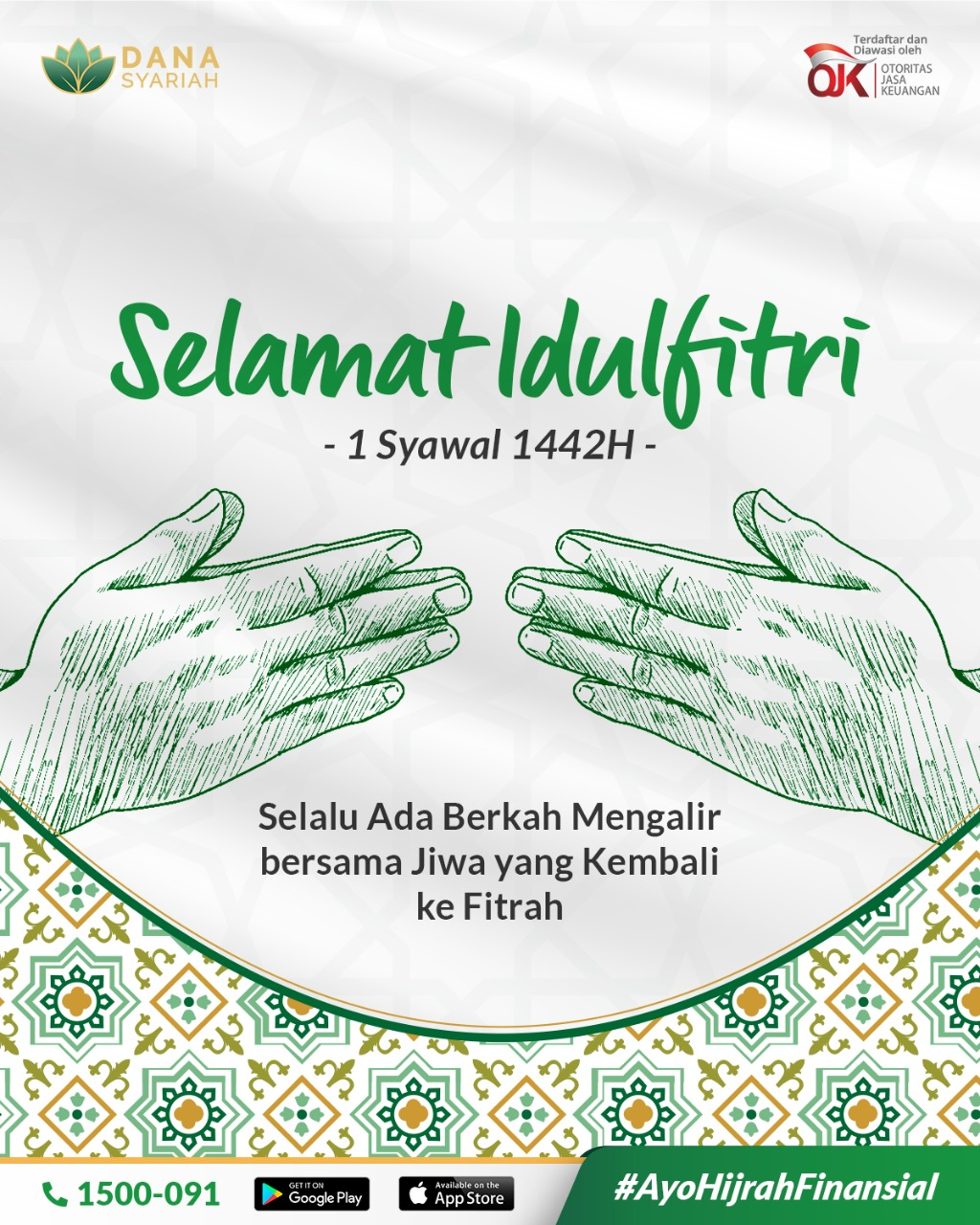 Dana Syariah Selamat Hari Raya Idulfitri 1442 H - Mohon Maaf Lahir & Batin