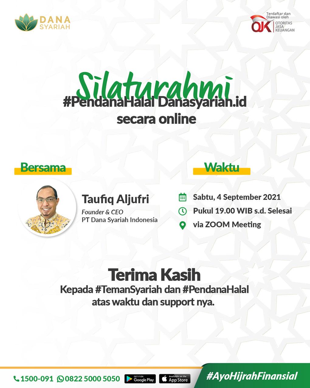 Dana Syariah Silaturahmi #PendanaHalal Danasyariah.id