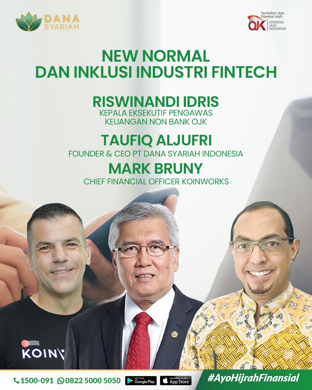 Dana Syariah New Normal Dan Inklusi Industri Fintech