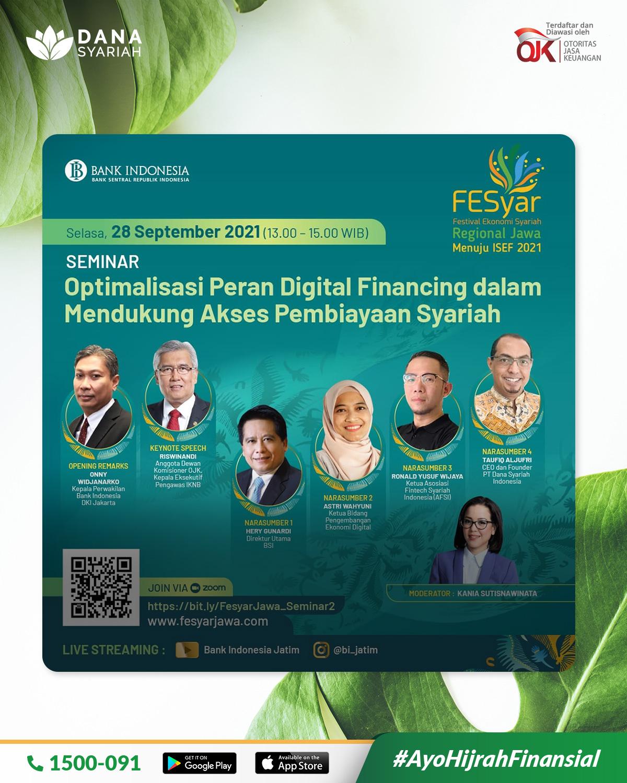 Dana Syariah Optimalisasi Peran Digital Financing dalam Mendukung Akses Pembiayaan Syariah
