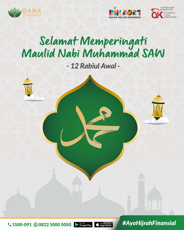 Dana Syariah Selamat Memperingati Maulid Nabi Muhammad SAW