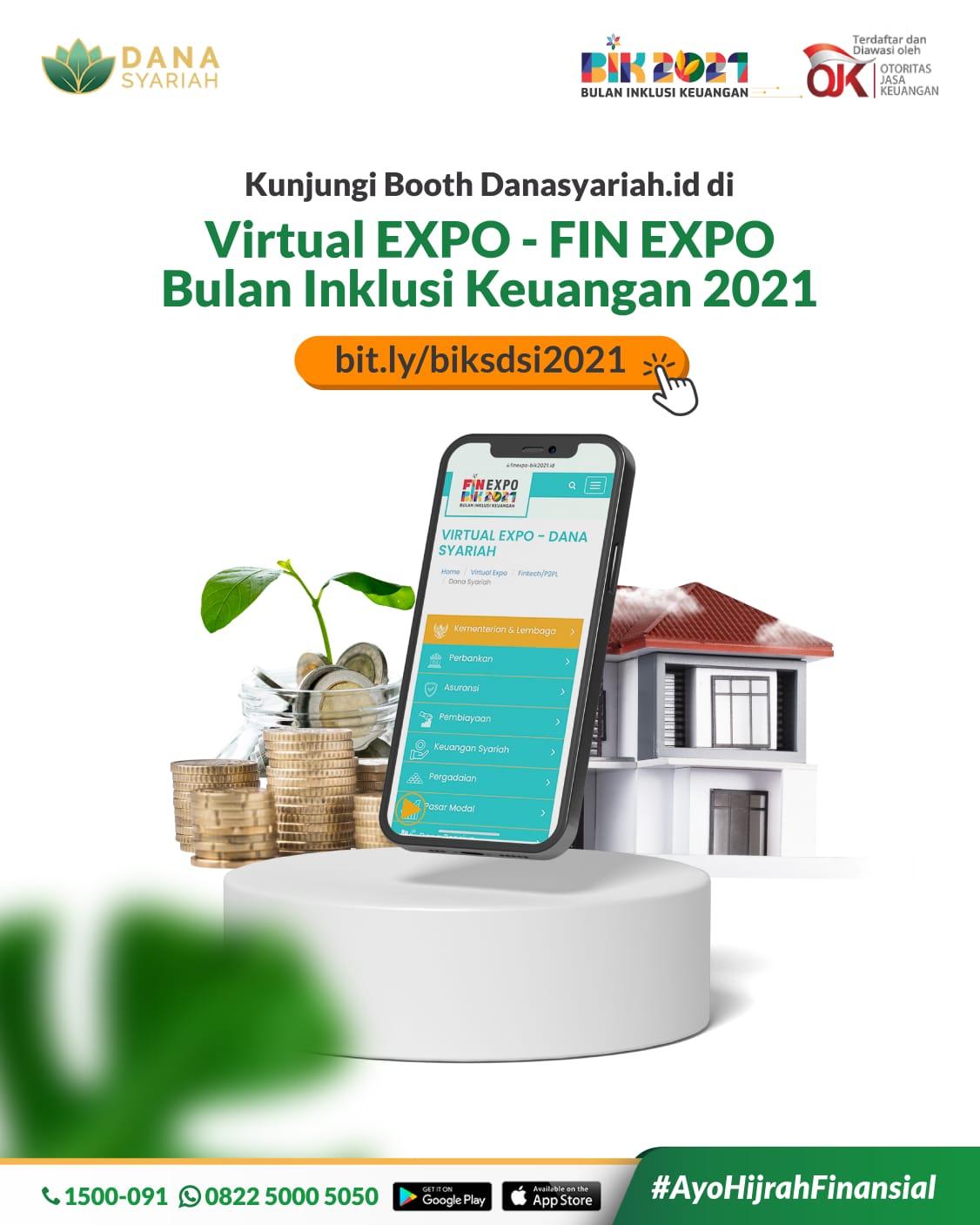 Dana Syariah Yuk Kunjungi Virtual Booth Danasyariah.id!